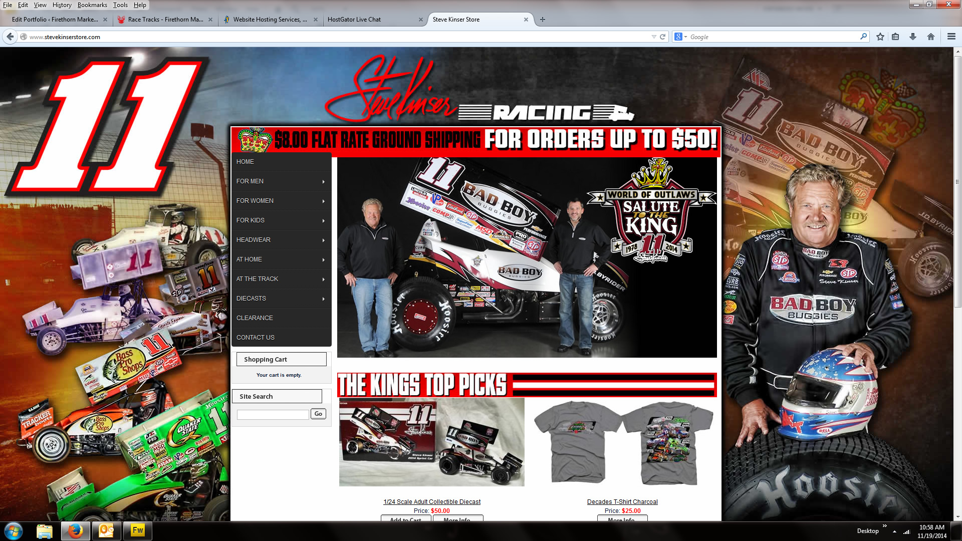 steve kinser store firethorn marketing